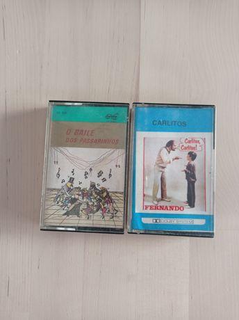 Cassetes de música portuguesa