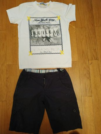 Футболка шорты летний костюм костюмчик для мальчика 5 - 6 лет
