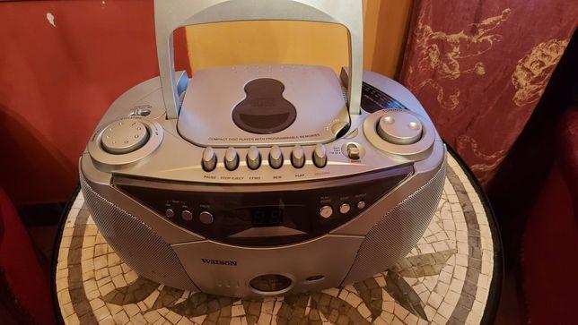 Radiomagnetofon z CD WATSON