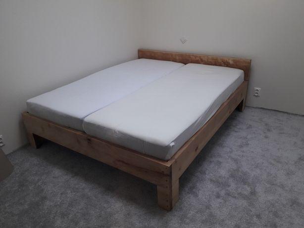 Łóżko-sypialnia lity buk