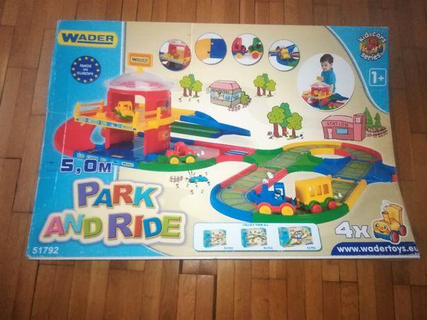 Kolejka Park and ride 5 m Kid cars Wader tor samochodowy
