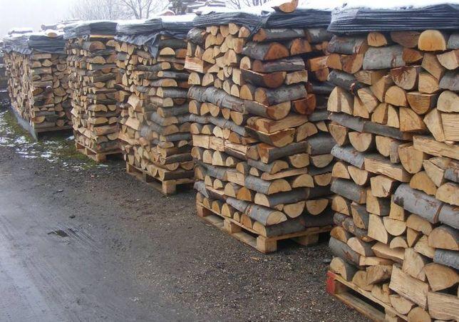 drewno kominkowe drewno opałowe sezonowabe BUK , GRAB.