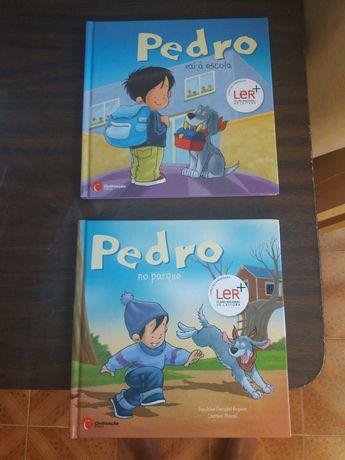 Livros infantis em muito bom estado
