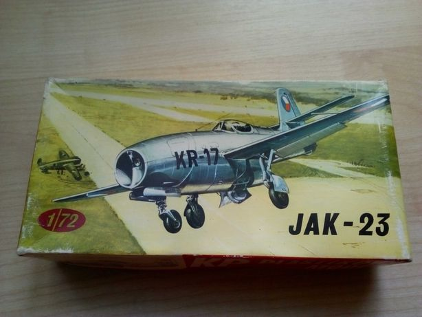 Самолет Як-23, модель JAK-23 масштаб 1/72