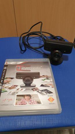 Camera PlayStation 3 com + Blue-Ray studio video