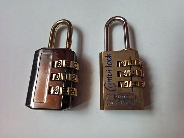 Kłódka mosiężna, Combi Lock 80/20mm Burg-Wächter, mini kłódka na szyfr
