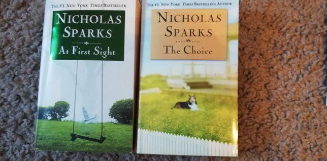 Nicolas Sparks w oryg- powieść, angielski nauka matura, zestaw, OKAZJA