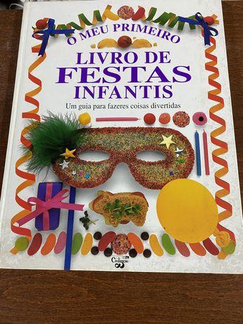 O meu primeiro livro de festas infantis