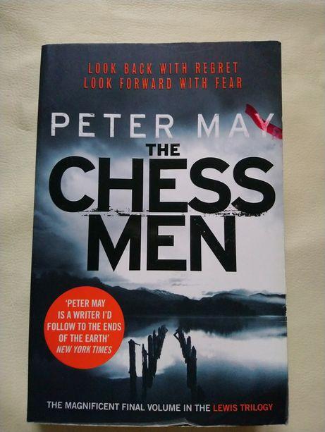 Книга Peter May The Chess Men на англійській мові