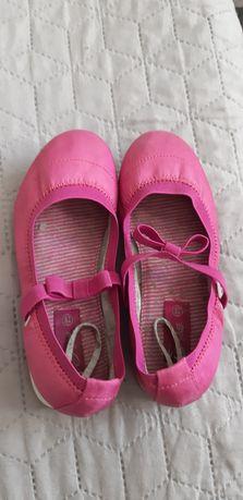 Buty dziewczęce baleriny Next roz.28