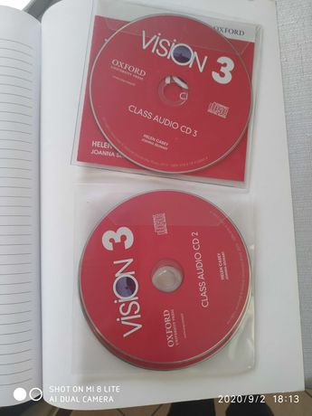 Vision 3 Teacher's guide plus CDs
