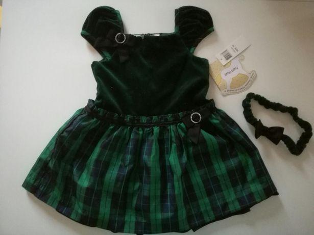 Suknia sukienka na święta dla dziewczynki 3 lata