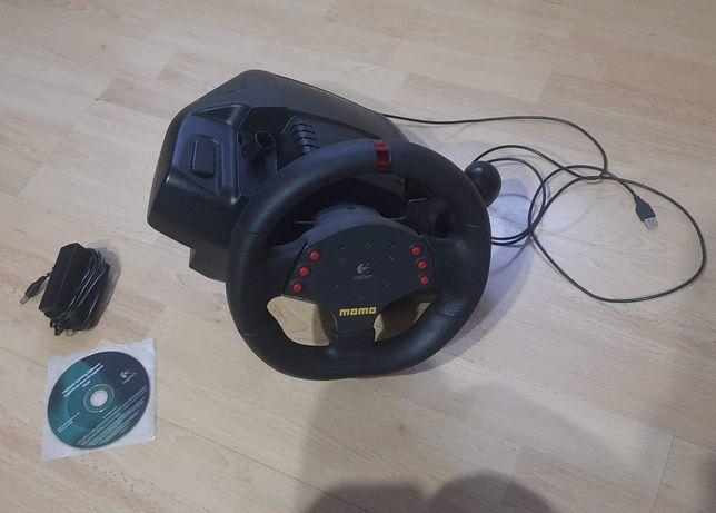 Kierownica Logitech Momo racing force feedback wheel