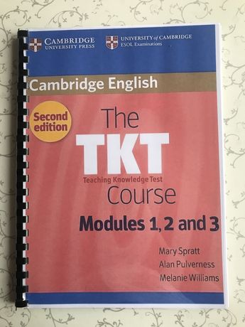The TKT course modules 1,2,3