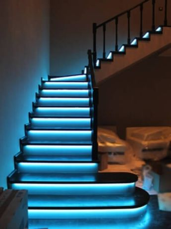 Smart LEDSTAIRS WIFI-RGB-WS2811-WS2815 Умная лестница