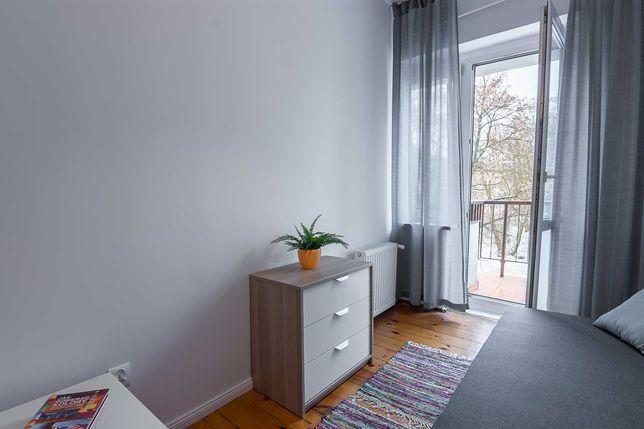 Pokój z Balkonem/ Bartodzieje - okolice Jurasza/ stałe opłaty