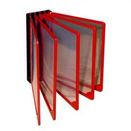 Стенд перекидна система на 5 рамок на стіну куточок споживача уголок