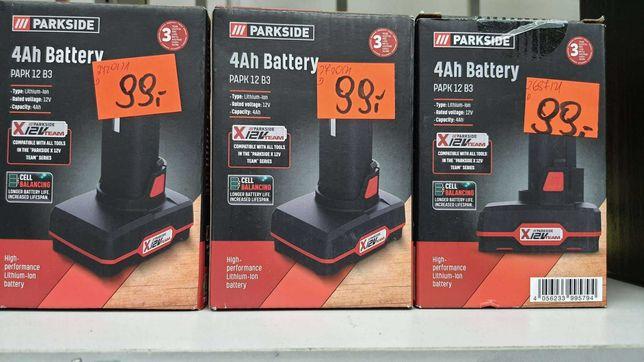Bateria Parkside PAPK12 B3 NOWA! 4Ah 12V *Lombard Madej Gorlice*