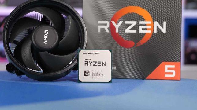 Processador CPU AMD Ryzen 5 3600 Hexa-Core 3.6GHz c/ Turbo 4.2GHz AM4