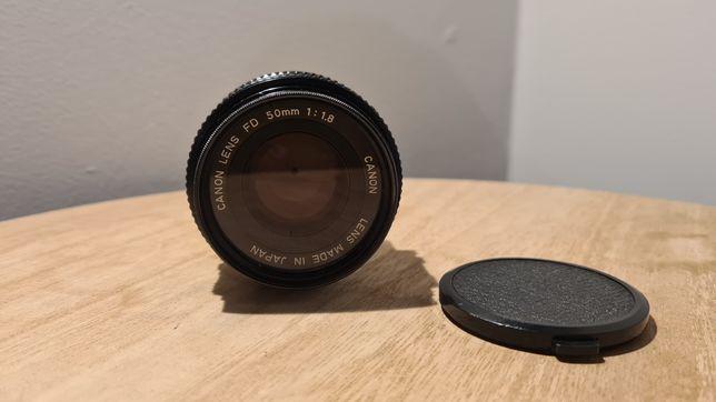 Lente canon FD 50mm f1.8