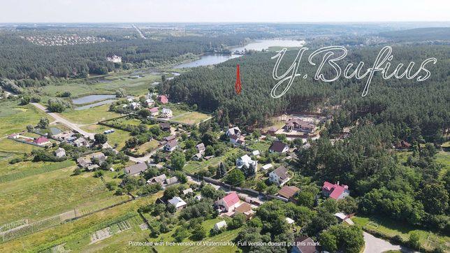 Элитный поселок Хлепча. Участок 25 соток в сосновом лесу
