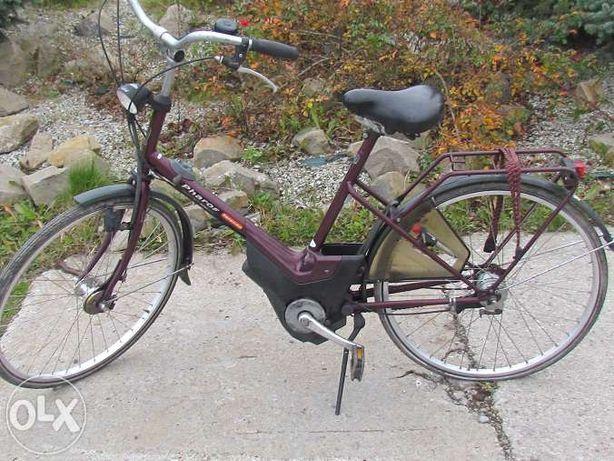 rower holenderski Sparta możliwość podpięcia akumulatora