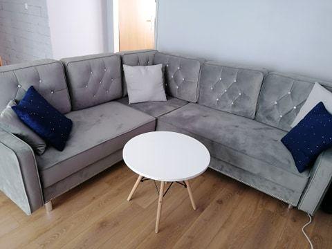 Nowy narożnik 237x237 z funkcją spania (od ręki) + fotel uszak Gdańsk - image 1