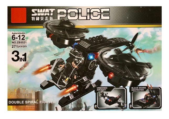 Klocki duży helikopter kompatybilne z lego