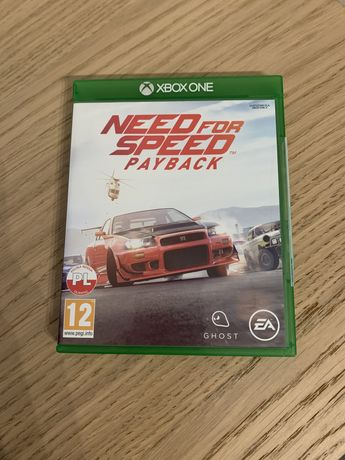 Gra Need For Speed PayBack xbox one Stan jak nowa.