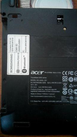 Запчастини до ноутбука Acer TravelMate 6292 model ZU1