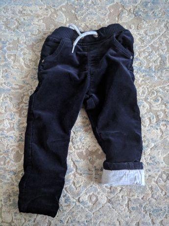 Spodnie sztruksowe r 86