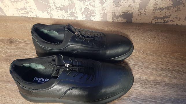 Туфли мужские..кожа.. р. 43..б.у.