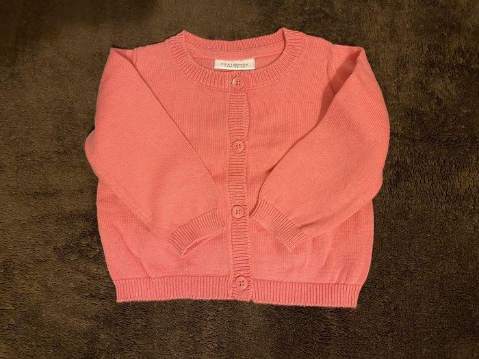Sweterek rózowy sweter Next rozmiar 56-62 Gdańsk - image 1