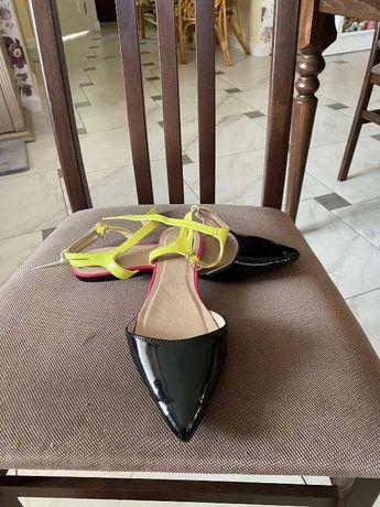 Фирменные туфли мокасины лоферы ASOS 39р кожа