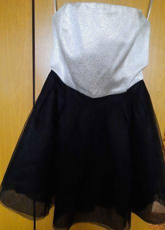Sukienka rozkloszowana Sinsay