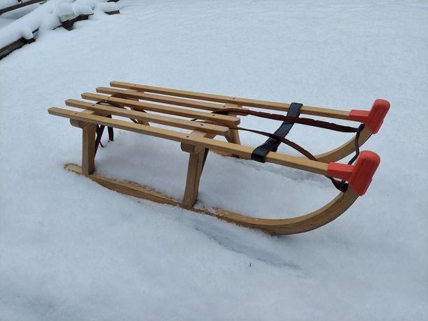 Super sanki drewniane