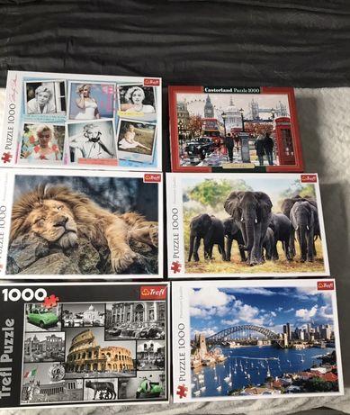 Puzzle 1000szt