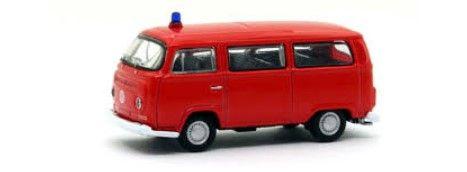 Volkswagen T2 Feuerwehr, 1972 skala H0, VOLLMER 41689