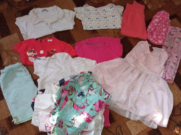 Ubranka dla dziewczynki r 80 86