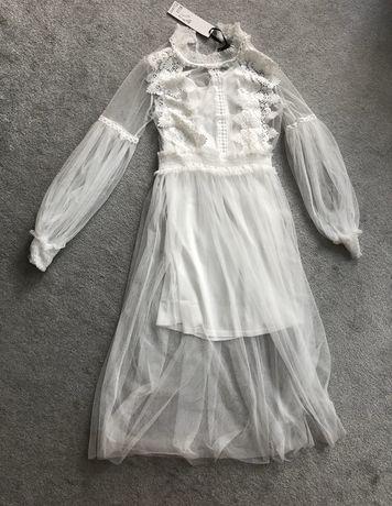 Nowa sukienka wizytowa, ślub Wild Flower S