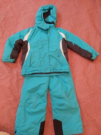 Zimowa kurtka i spodnie 110/116