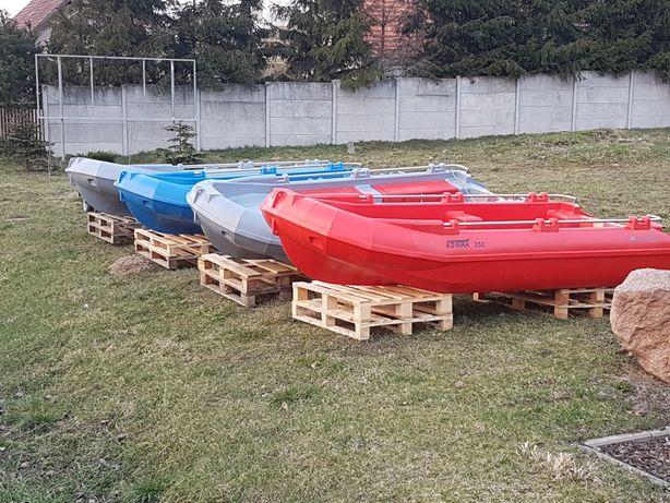 KONTRA 350 , 400, 450  niezniszczalna łódź polietylen