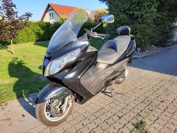 Suzuki Burgman an400 zarejestrowany w PL!
