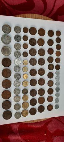 Moedas em escudos de colecção