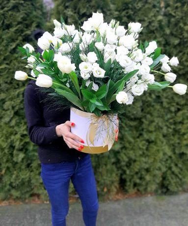 Poczta kwiatowa bukiety bukiet kwiaty flowerbox flowerboxy urodziny