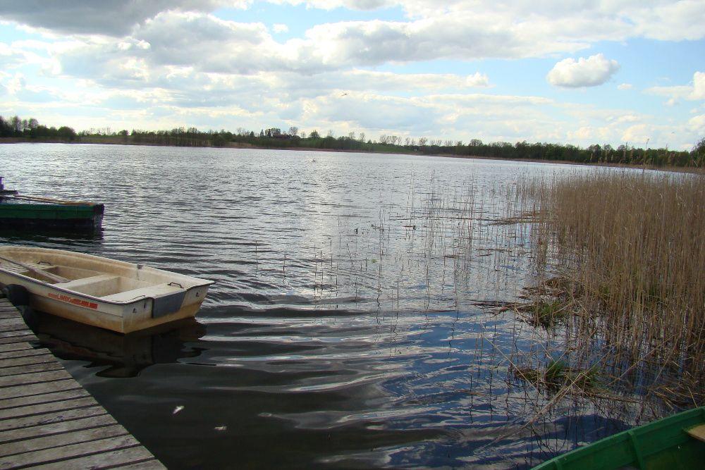 Działka nad jeziorem Jagielskim z linnią brzegową 1,3 h na Mazurach Jagiele - image 1