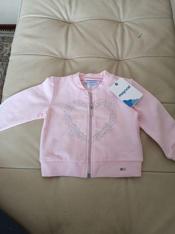 Bluza różowa mayoral r 80