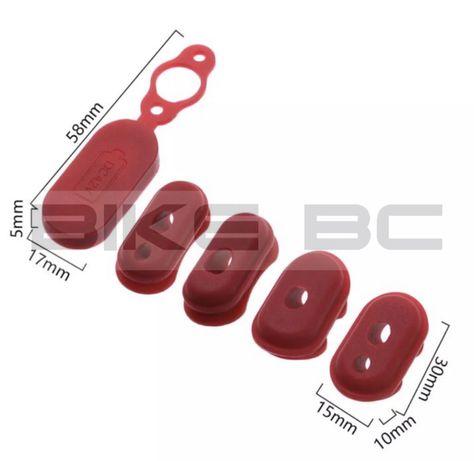 Резиновые заглушки и заглушка порта зарядки (не магнитная) для электро