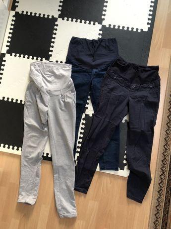 Zestaw spodnie ciążowe 36 S happymum h&m