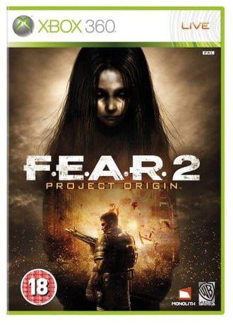 Gra F.E.A.R. 2 Project Origin X360 - używana